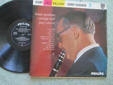 Benny Goodman Carnegie Hall Jazz Concert 2 Philips BBL 7442 Vinyl LP Album