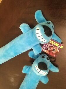 (2 Pack) Multipet BLUE Loofa Dog Toy NEW