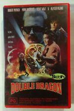 Double Dragon VHS 1994 Martial Arts James Yukich Dacascos Wolf Triumph Large