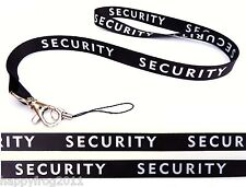 SECURITY Quality satin lanyard, neck strap ideal for mobile id keys mp3 Usb