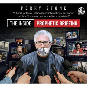 """PERRY STONE-""""The Inside Prophetic Briefing""""-2 CD's-Just released 2021"""