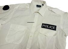 Ex Police White Shirt Police Uniform Long & Short Sleeved (Obsolete)