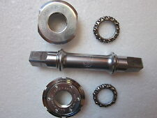 """USED CAMPAGNOLO BB BOTTOM BRACKET 68-SP 111mm CUPS 1.370""""X24TPI ENGLISH"""