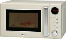 Clatronic MWG 790 Mikrowelle im Retro-Design, beige