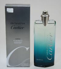 CARTIER DECLARATION ESSENCE EAU DE TOILETTE 100 ML SPAY SILVER BOX