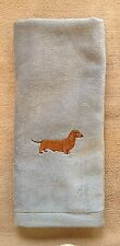 Dachshund, Smooth Dachshund, Doxie, Hand Towel, Embroidered, Personalized, Dog