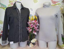 """Lot vêtements occasion femme - Chemise """" Tbs """" Sous-Pull """" Esprit """"- T : 40 / 42"""