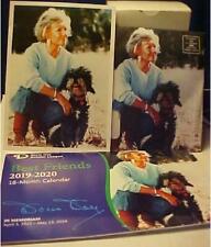 2020 Doris Day Best Friends Monthly Desk Calendar + 5 x 7