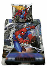Bettwäsche Marvel Spiderman 3D Effekt incl.2Brillen 135x200 Baumwolle Neu OVP