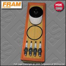 SERVICE KIT PEUGEOT 207 1.4 8V FRAM OIL AIR FILTERS NGK PLUGS (2006-2011)
