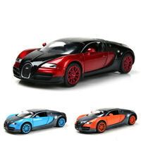 1:32 Bugatti Veyron Model Toy Diecast Car Collection Alloy Kid Gifts light&sound
