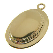 GOLD BOATER HAT CHARM.  HALLMARKED 9 CARAT GOLD BOATER HAT CHARM