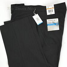 AXIST Men's 40 x 30 CHARCOAL GRAY PANTS Flat Front SLIM FIT Superior No Iron