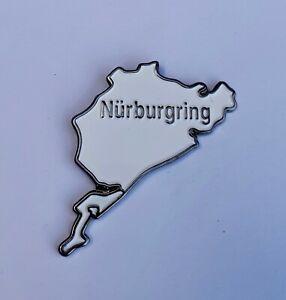 Nurburgring Motor Racing Quality Enamel Pin Badge
