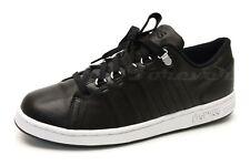 Mens K-SWISS black leather fashion sneakers sz. 10.5 (UK 9.5, EU 44)