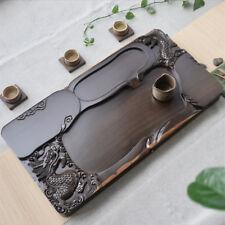 handmade tea tray hand carved dragon ebony wood tea table high quality heavy new