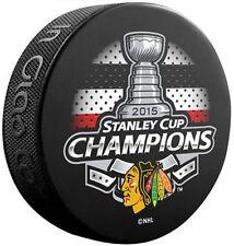 Chicago Blackhawks 2015 NHL Stanley Cup Champions Souvenir Hockey Puck