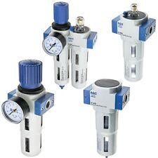 """Druckluft Wartungseinheit 1/4"""" 1/2"""" 3/4"""" Druckluft Wasserabscheider Öler Filter"""