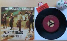 THE ROLLING STONES Paint It, Black★Long Long While★Decca DL 25 240