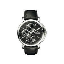 Runde Maurice Lacroix Armbanduhren aus Edelstahl mit Datumsanzeige