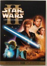 Dvd Star Wars Episodio II 2 - L'Attacco dei Cloni - Edizione 2 dischi Usato