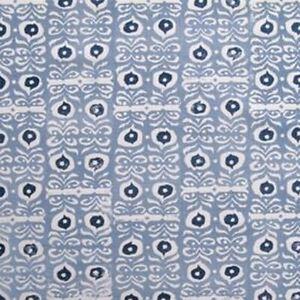 Rapture & Wright - Iznik - Mamluk Blue - Fabric - 65cm x 128cm - Face Masks