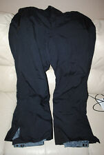 COLUMBIA SNOW PANTS CHILIWACK PANT  2XL XXL BLACK WATERPROOF OMNI, NEW WITH TAGS
