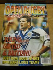 Dec-1993 Rugby League: Open Rugby League Monthly Magazine, Number 160 (creased).