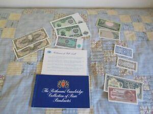 RARE BANK NOTES ROTHMANS BRAZIL  BULGARIA INDONESIA  KOREA  YOUGOUSLAVIA  JAPAN