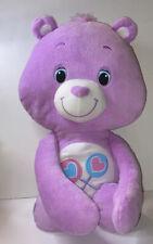 Care Bears Hug Me Back - Share Bear - Purple Plush (Hasbro, 2012)