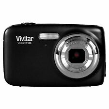 Vivitar Digitalkamera »ViviCam F126« schwarz 14 MP, 4x digital zoom 1,8''Display