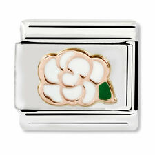GENUINE Nomination Classic Rose Gold Camellia Charm 430202/02 / £20 RRP