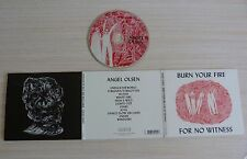 CD ALBUM DIGIPACK BURN YOUR FIRE FOR NO WITNESS ANGEL OLSEN 11 TITRES 2014