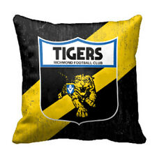 Richmond Tigers AFL Cushion Canvas fabric indoor outdoor Pillow Christmas Gift