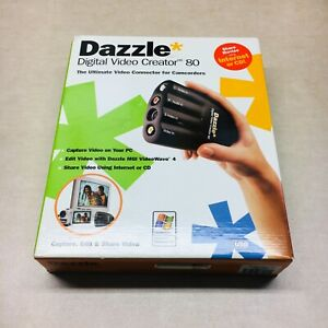 DAZZLE Digital Video Creator 80 DVC-80 for Camcorders w/Software for WINDOWS PC