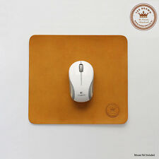 TedBrown Korea Handmade Natural Cowhide Leather Vintage Classic Gaming Mouse Pad