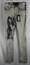Rock Republic Sienna Jeans Denim Womens Size 0, 25 Straight Low Rise Sample 2010