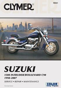 CLYMER 1998-2004 Suzuki VL1500 Intruder REPAIR MANUAL M261-2 Motorcycle 70-0261