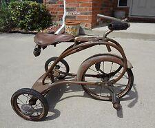 Rare Antique Colson Rocket Tricycle 1938-1939 Rear Steering Trike