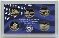 2005 State Quarter Proof Set - 5-Coins - US Mint Official Authentic