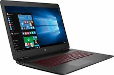 "HP Omen 17t Gaming Gamer Laptop 17 17.3"" UHD 4K i7-7700HQ 8GB 1TB 4GB 1050 B Key"