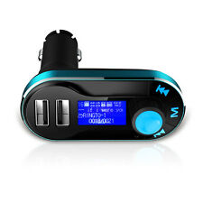 Universal 12V Dual USB Car Charger Music FM Transmitter AUX TF Audio MP3 Player