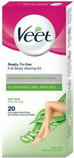 Veet Full Body Waxing Kit for Dry Skin, 20 strips | Free Shipping