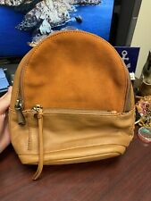 Hobo Revel Suede And Leather Backpack Crossbody Bag