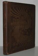 RUBAIYAT OF OMAR KHAYYAM - First American Edition Early Printing Folio
