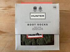 Hunter Bota Calcetín Niños UK 4-6 (XS) - Verde-apenas usados si en todo