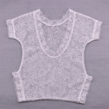 Newborn Baby Girl Clothe Lace Floral Romper Backless Bodysuit Photo Prop Outfit