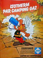 PUBLICITÉ DE PRESSE 1980 ISOTHERM PAR CAMPING GAZ BUVEZ FRAIS - ASTÉRIX