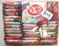 Japanese kitkat mini kit kats nestles banana sake citrus caramel limited 35P