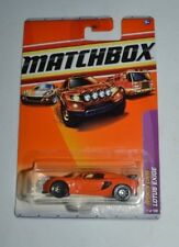 2010 MATCHBOX SPORTS CARS LOTUS EXIGE ORANGE 11/100 VHTF !!